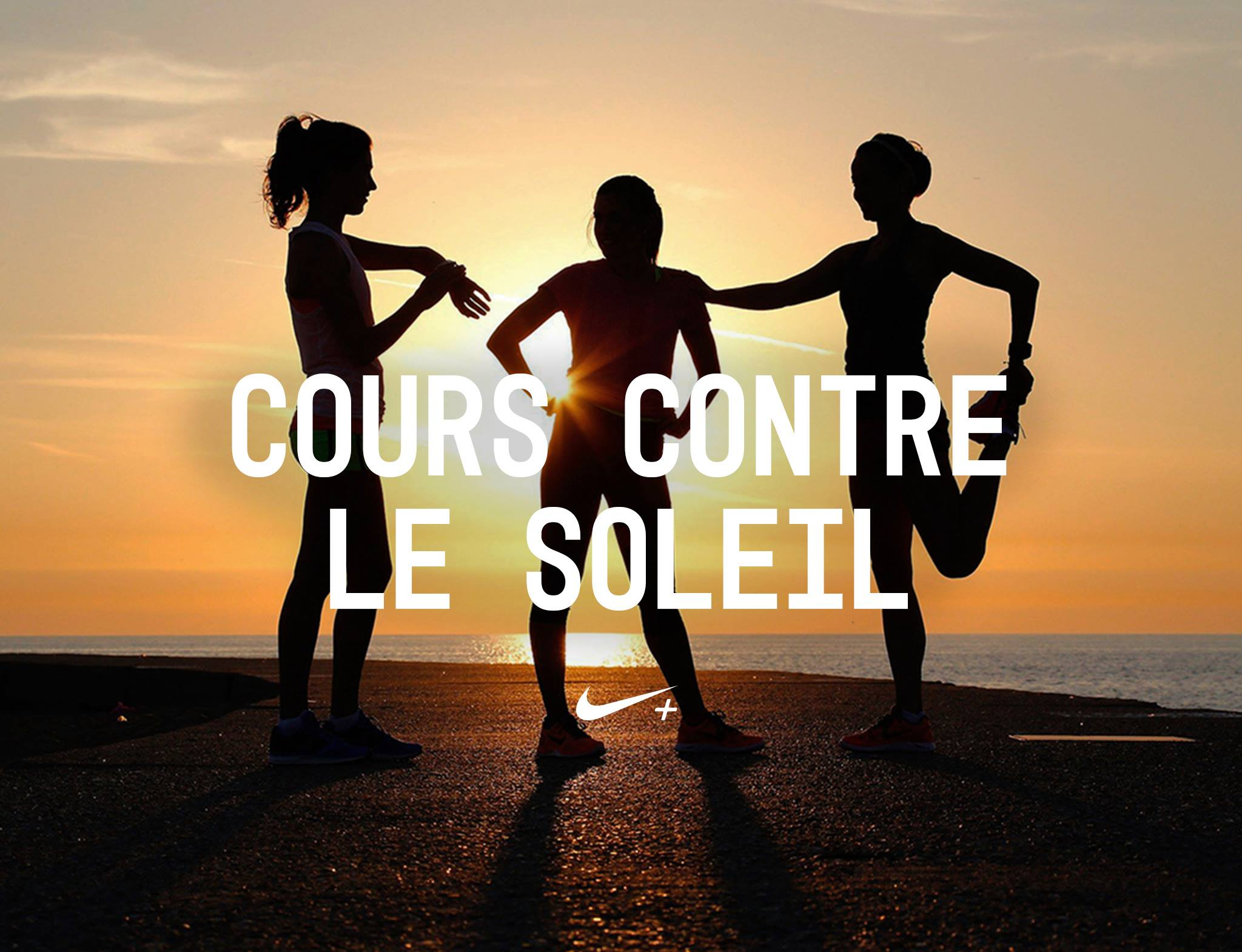 Nike Cours contre le soleil running
