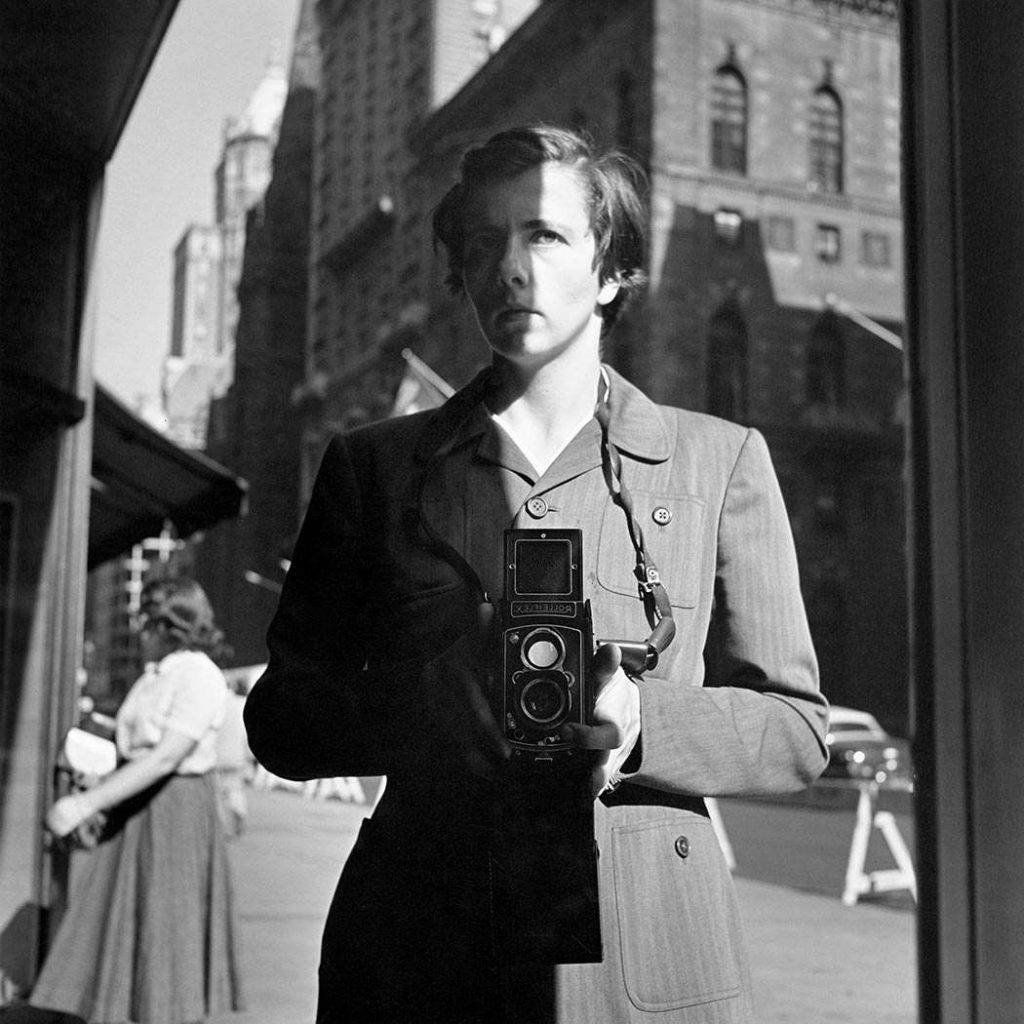 autoportrait Vivian Mayer