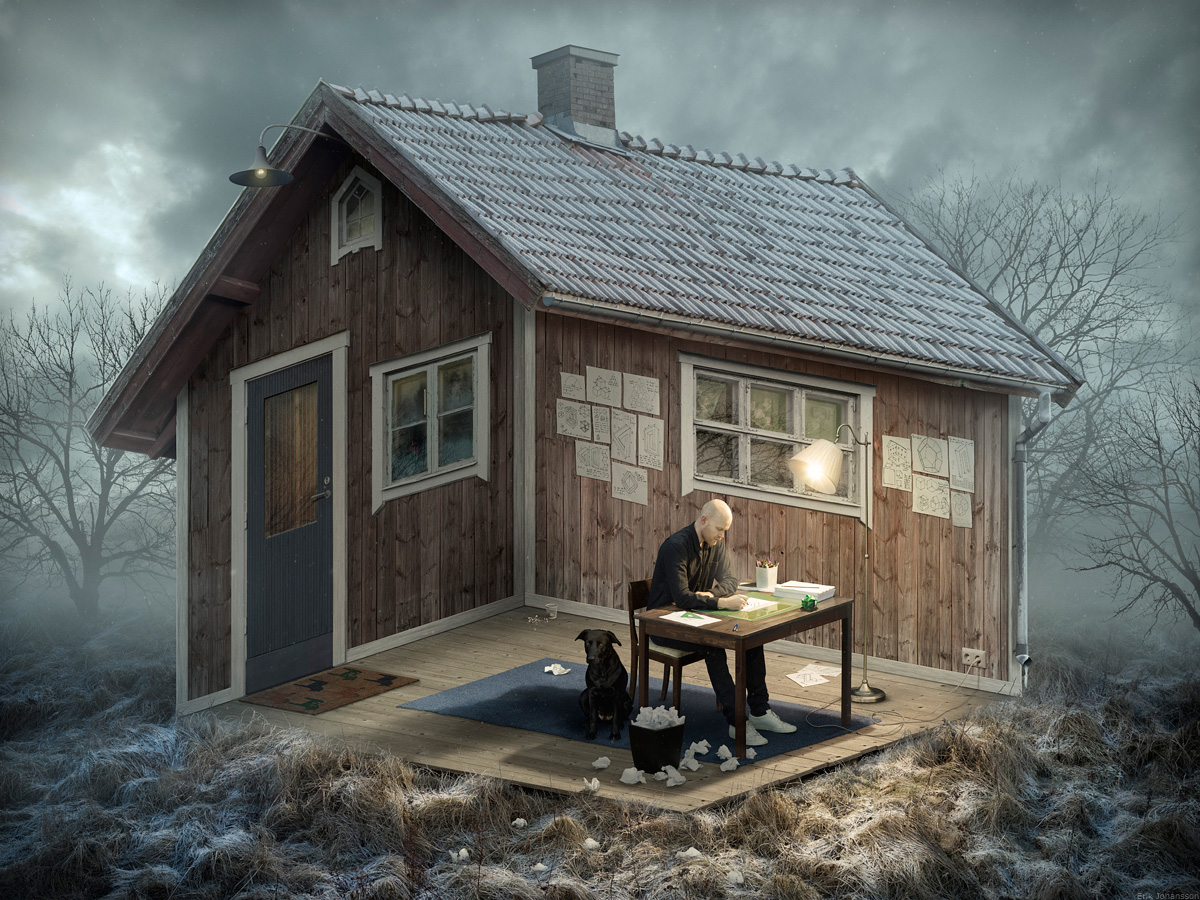 Erik Johansson The Architect photographie