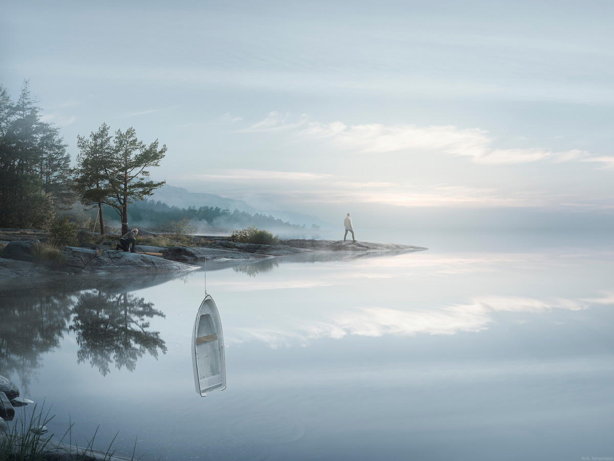 Erik Johansson Endless Reflection photographie