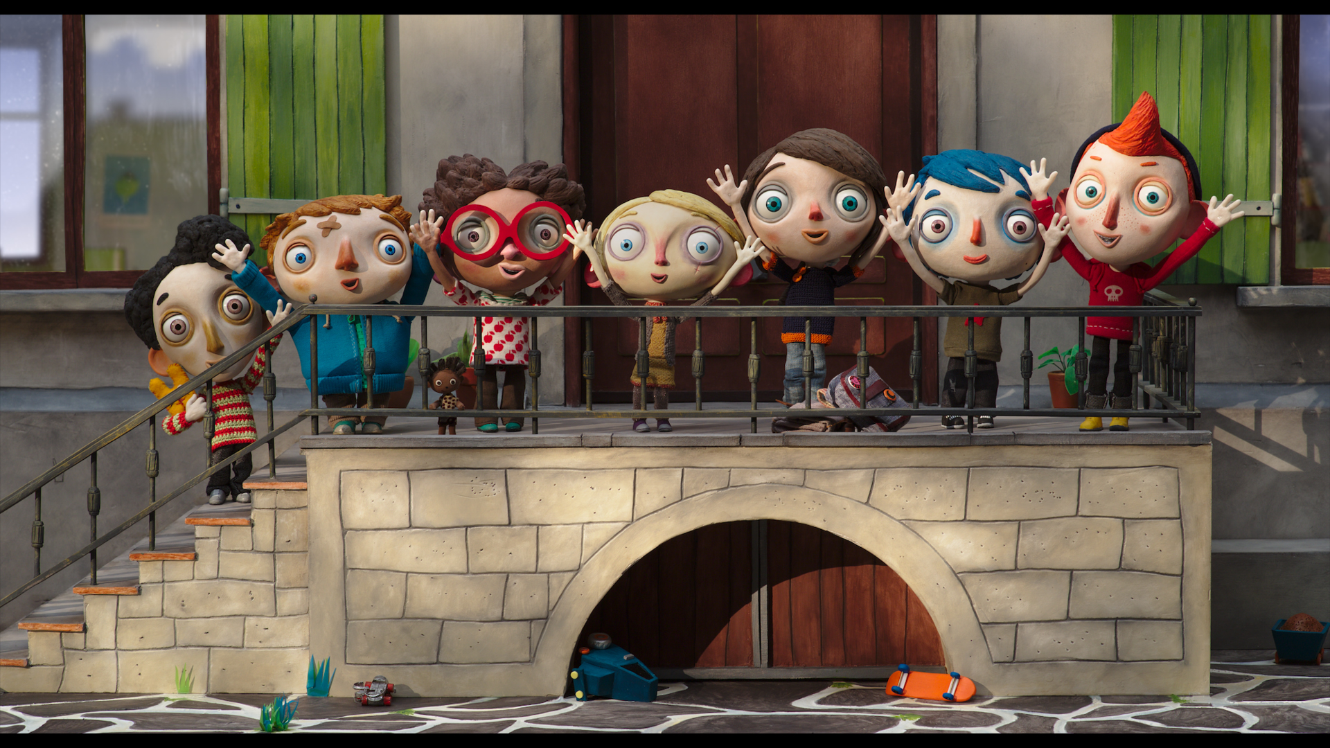 ma vie de Courgette film d'animation Claude Barras