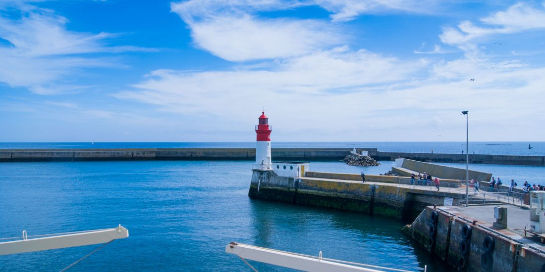 Le guilvinec Bretagne port phare